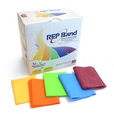REP Band 150-Feet Resistance Exercise Bands | Shop OPTP.com