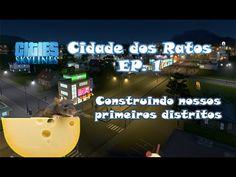Cities Skylines - Cidade Dos Ratos ep. 1 começando esta maçã!