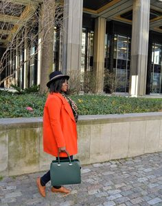The AfroFusion Spot: Happy New Month! March Orange Feature of the Month orange style fashion outerwear