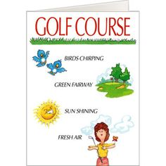 59 best golf greeting cards images on pinterest golf birthday golf course vs home card 5x7 folded greeting card m4hsunfo