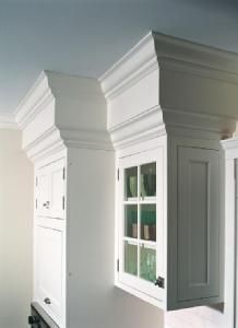 Add Crown Moulding To Top Of Cabinets