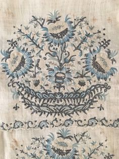 RARE HUGE Antique Ottoman-Turkish Silk & Metallic Hand Embroidered Towel N1 - $1,500.00 | PicClick