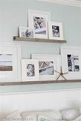 DIY Picture Frame Ledge - Easy