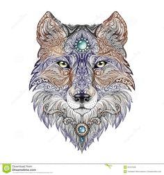 Google Волчья Голова татуировки