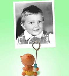 Guests each bring a picture of themselves as a baby and take turns guessing who each of them are.