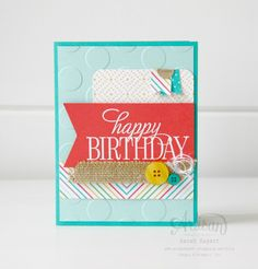 2015-2016 Catalogue - Hostess set - Happy Birthday, Everyone. ~ Sarah Sagert