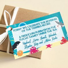 Digital or Printed Under the Sea Birthday or Baby by Lexdesignsco