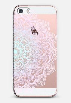 Pastel Lace Mandala iPhone SE case by Laurel Mae | Casetify