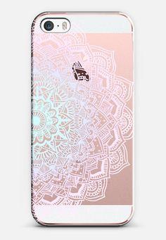 Pastel Lace Mandala iPhone SE case by Laurel Mae | Casetify