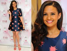 Alesha Dixon In House of Holland – Fragrance Launch Photocall