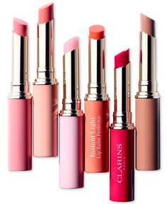 Clarins Instant Light Lip Perfector Stick — so many shades of love