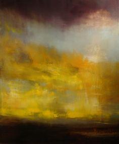 "Saatchi Online Artist: Maurice Sapiro; Oil 2013 Painting ""Sunset"""