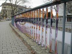 zebrating street art Anamorphic 12