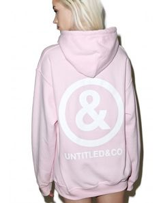 #DollsKill #lookbook #photoshoot #model #Untitled&Co #baby #pink #logo #hoodie #sweatshirt