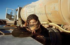 The Saharawi refugee camp Smara..Sahrawi woman