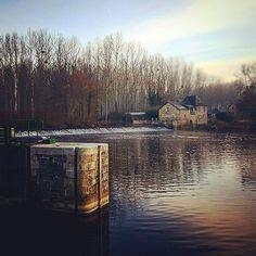 L'écluse de Mirwault à #chateaugontier en #sudmayenne de bon matin #Mayenne #rivière #slowlydays #igersfrance #igerspaysdelaloire #instamoment #instapic (à Chateau Gontier Centre)