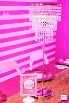 Barbie Party At The Dreamhouse Experience Mallory Geis Of America Styled By Soiree
