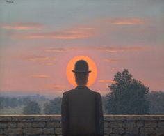 René Magritte  Le Cri du Coeur 1960  Oil on canvas  19 ¾ x 23 ½ inches