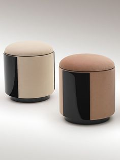 Manon ottomans for Heritage Collection www.luxurylivinggroup.com #Heritage #LuxuryLivingGroup