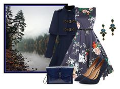 Autumn Floral by sjlew on Polyvore featuring polyvore, fashion, style, Maiden Lane, Hayward, Oscar de la Renta and clothing