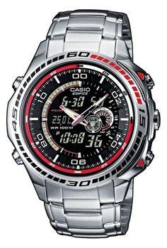 Sale Preis: Casio Edifice Herren-Armbanduhr Analog / Digital Quarz EFA-121D-1AVEF. Gutscheine & Coole Geschenke für Frauen, Männer und Freunde. Kaufen bei http://coolegeschenkideen.de/casio-edifice-herren-armbanduhr-analog-digital-quarz-efa-121d-1avef