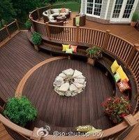 Landscaping idea for back yard