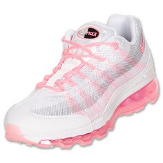 Fashion Womens Nike Air Max 95 DYN FW Running Shoes Pink - goalsBox™