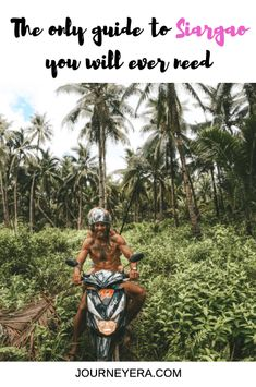 I spent one month living on Siargao and had the adventure of a lifetime. These are the best 30 things to do on Siargao: THE ULTIMATE BUCKET LIST Siargao Philippines, Philippines Travel, Visit Philippines, New Travel, Asia Travel, Stuff To Do, Things To Do, Siargao Island, Best Travel Guides