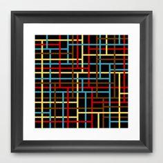 veza Framed Art Print by trebam - $30.00