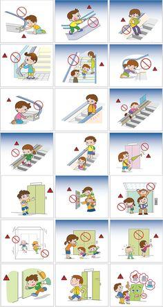 An toàn khi đi thang máy cho trẻ em