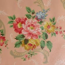 French Laundry: The Prettiest Pink Roses Vintage Wallpaper EVER! Shabby Vintage, Vintage Love, Vintage Walls, Vintage Pink, Decoupage Vintage, Vintage Ephemera, Vintage Fabrics, Vintage Paper, Vintage Flowers