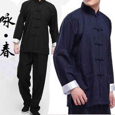 ZooBoo Chinese Waistcoat Wing Chun Sleeveless Vest Martial Arts Buddhist Monks Uniform