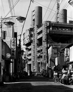 建築写真「丹下健三」写真04 山梨文化会館・1967