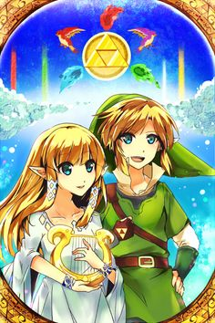 The Legend Of Zelda , designé Anime