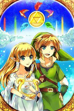 The Legend Of Zelda , designé Anime
