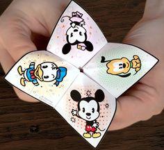 Celebrate with Disney: Minnie party ideas. Minnie Cutie Catcher.