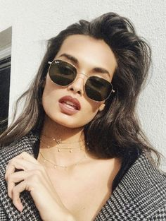 b140abe6c Gafas de sol mujer #SunglassesWomens #Trindu P I N T E R E S T :  emmaacoghlan Round Sunglasses, Sunglasses Women