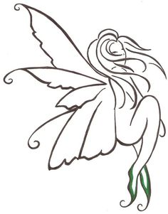 Fairy tattoo by Darla-Illara
