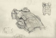 The Secret Space Base: Ron Cobb Aliens APC Concept Art!