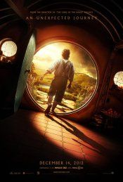 The Hobbit: An Unexpected Journey movie poster  Just in time for my BD!