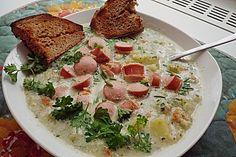 Leichte Käsesuppe à la Marlen