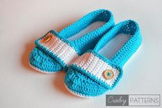 8 Mommy-and-Me #Crochet Patterns for Take Your Child To Work Day @becraftsy - crochet shoes patterns by Croby Patterns