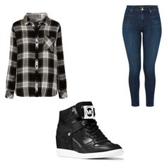 """""""Untitled #137"""" by tia12502 on Polyvore featuring Rails, J Brand and MICHAEL Michael Kors"""