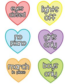 SINGING TIME IDEA: ♪ Primary Notes 29 ♫: TONS OF How-To-Sing Cards, the kids in my ward love doing this! Yay!