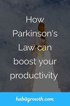 If you want to manage your time better, you need to understand Parkinson's Law and know how to use it to your advantage. Time Management Techniques, Good Time Management, Project Management, Home Based Business, Online Business, Parkinson's Law, Girl Boss Book, How To Find Out, How To Become