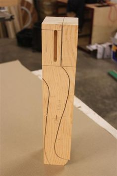 For this tutorial I going to use some pine I have laying around the shop. I glued up and number of pieces to get a blank big enough that my pattern will fit on them plus another 1/4'' so. It's real important that the blanks are square. First I make up the blanks and my leg pattern. Next I cut the ...