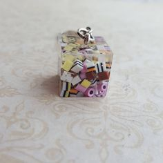 Allsorts keyring, quirky, unusual, cute gift for a friend, polymer clay sweets key ring by chapelviewcrafts on Etsy