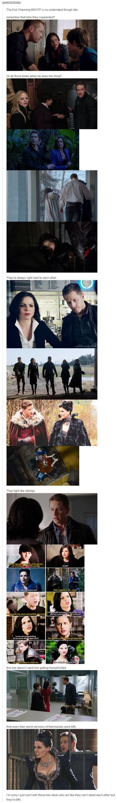 EvilCharming Brotp! XD dying
