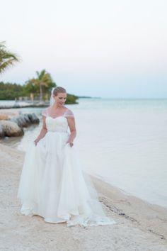 Our Bride: Erin + Shawn #PostcardInn #Islamorada #Florida #IvyandAster #GiuseppeZanotti