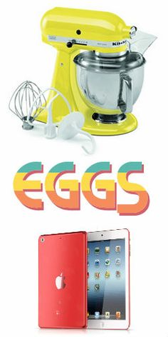 Start #EggHunting to #Win an iPad Mini, Keurig, or #KitchenAid Stand Mixer!